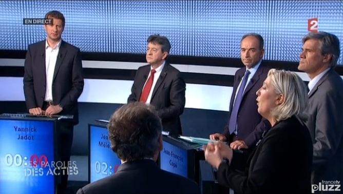 Débat télévisé du 22 mai 2015.