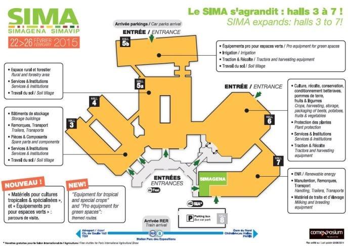 Sima 2015 et simagena 2015 une nouvelle organisation - Salon sima 2017 ...