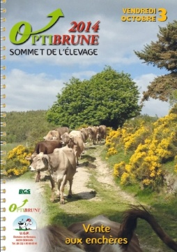 Catalogue de la vente Opti'Brune 2014