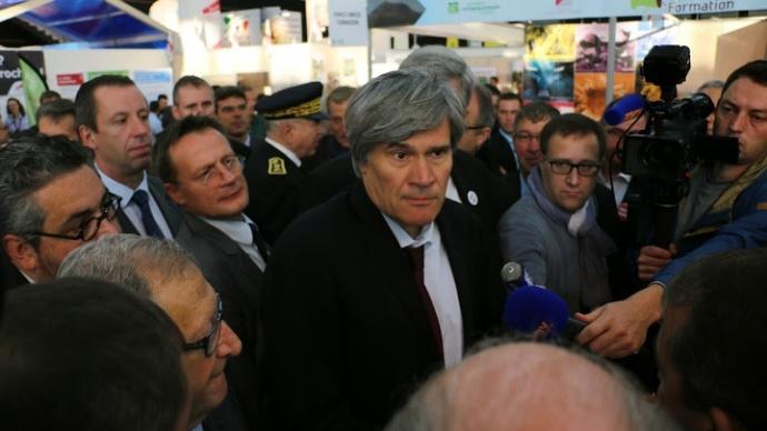 Stéphane Le Foll au Sommet de l'Elevage