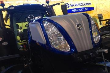 Première présentation en France pour le T8 New Holland série Smarttrax