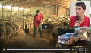 Tour agricole sur Prise au volant de la voiture �lectrique de Flavien Roussel
