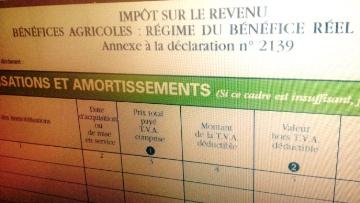 Un rapport parlementaire pr�conise des am�liorations de la fiscalit� agricole