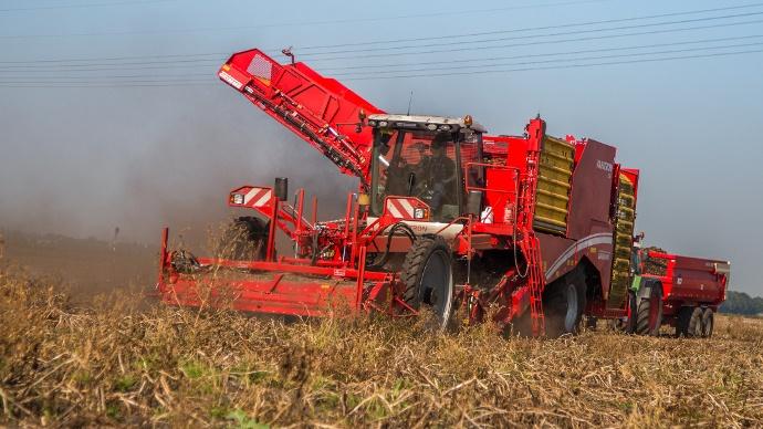 Grimme varitron 470 arracheuse pommes de terre - Date recolte pomme de terre ...