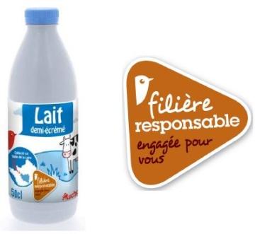 Auchan s'engage aupr�s des producteurs de lait du Centre (LSDH)