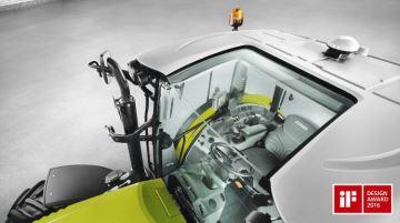 La cabine Panoramic de l'Arion 400 récompensée pour sa visibilité au chargeur