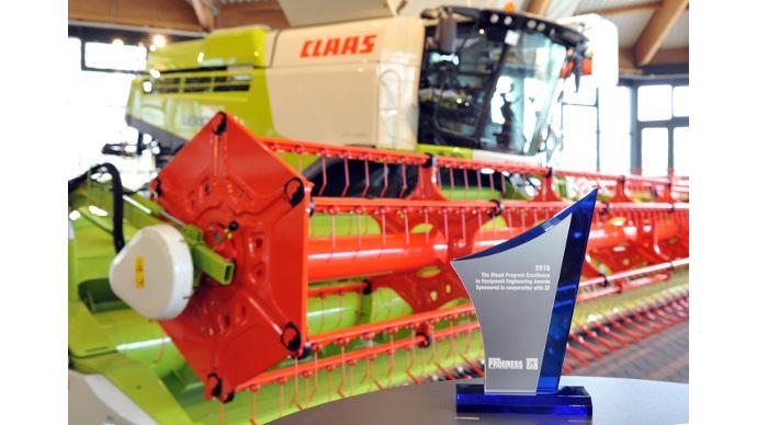 Moissonneuse-batteuse Claas - Prix d'excellence pour la Lexion 780