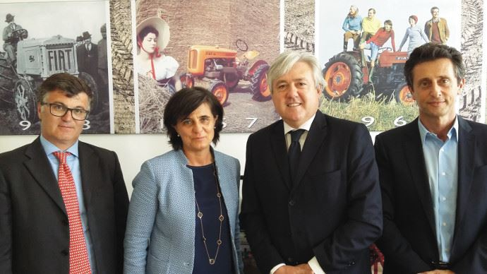 Info firme - New Holland passe un accord avec Mascar S.p.a.
