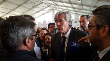Sans r�ponses suppl�mentaires au plan Valls, Le Foll s'est fait chahuter