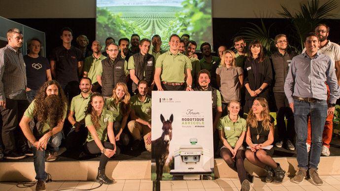 Forum sur la robotique agricole - OZ de Naïo, Fendt Mars, Sony, Bosch: ils étaient tous présents