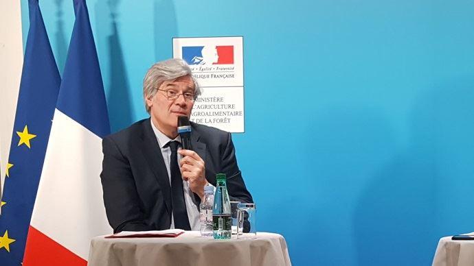 Face aux journalistes de l'Afja (Association française des journalistes agricoles), Stéphane Le Foll a répondu aux questions sur son bilan au ministère de l'agriculture.