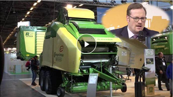 Bernard Krone: «Ce que gagne l'agriculteur est la question la plus importante»