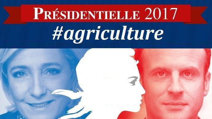 Emmanuel Macron et Marine Le Pen, deux programmes agricoles radicalement opposés