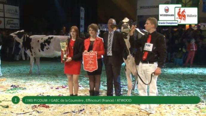 20�me Nuit de la Holstein : la France au top !