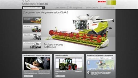 Entre neuf et occasion, Claas propose sa « Selection premium »