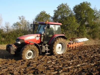Case IH MXM 140, un des premier Bus-Can de Case IH