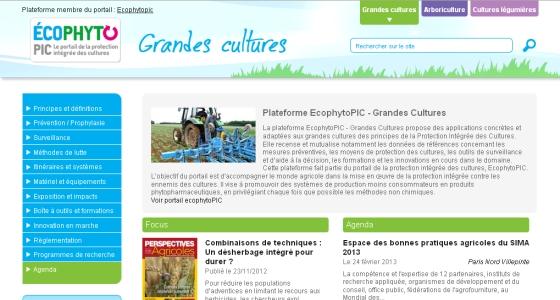 Accéder au portail EcophytoPIC : www.ecophytopic.fr