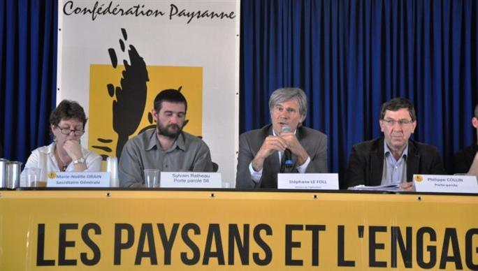 Congrs de la Confdration paysanne - Le syndicat se met en ordre de marche pour six ans avec une nouvelle quipe