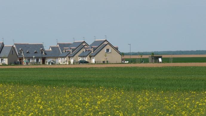 Habitations dans village