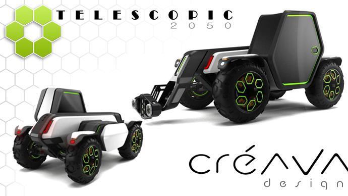 Télescopic 2050 : le télescopique de demain vu par Créava Design
