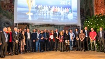 Les lauréats du 21ème prix de la dynamique des Banques populaires