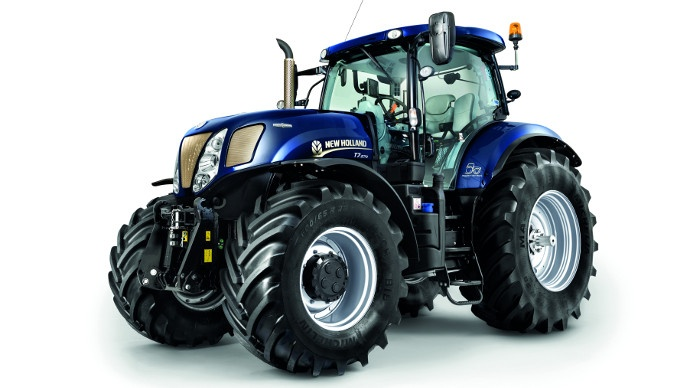 50 ans de tracteurs new holland basildon avec les t6 et t7 jubil d 39 or. Black Bedroom Furniture Sets. Home Design Ideas