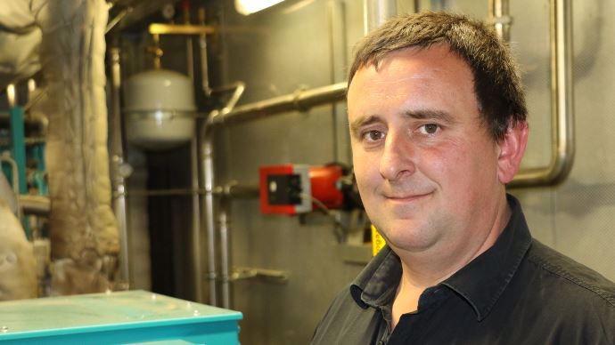 Julien Wyckaert, cogénérant d'Agri Flandres Energie, a diversifié son exploitation agricole