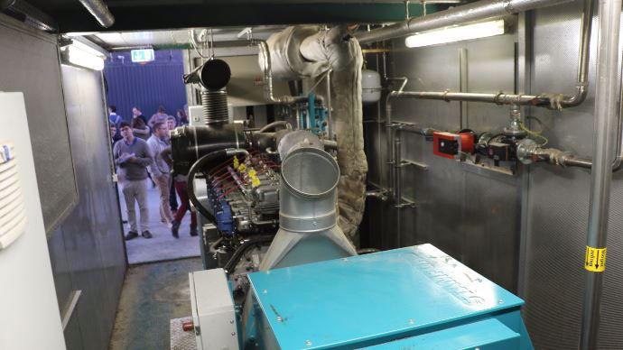 Module de cogénération Schnell de 250 kWh