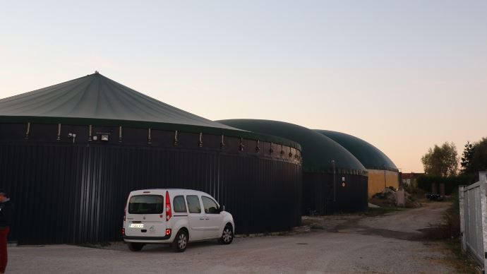 Unité de méthanisation Agri Flandres Energie de Renescure