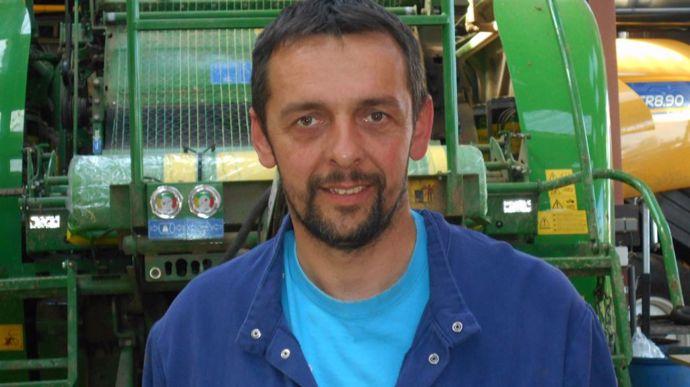 Yann Faujour est l'un des trois cogérants de la SARL des Abers, entreprise de travaux agricoles implantée à Ploudaniel (Finistère).