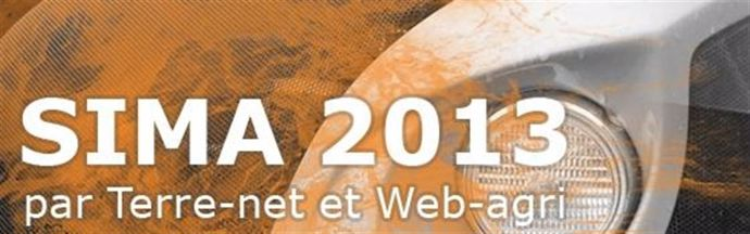 Dossier spécial Sima 2013 de Terre-net Média