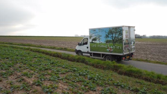 Les Fermes d'ici, drive agricole en Seine-Maritime