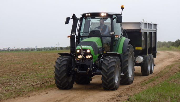 Tracteur Deutz-Fahr