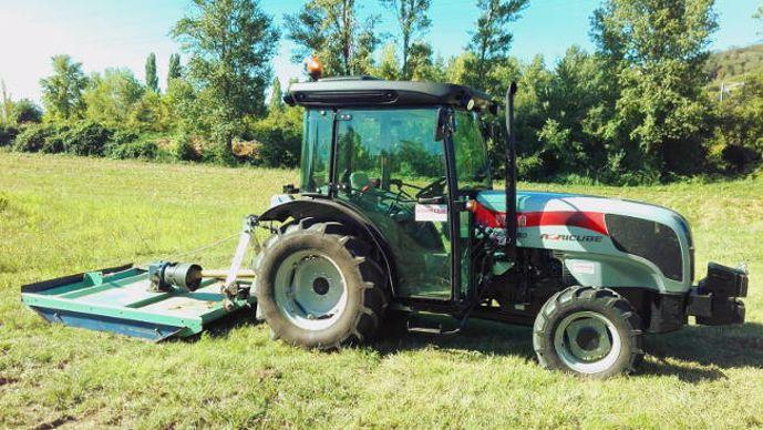 tracteur Carraro Agricube pour vergers