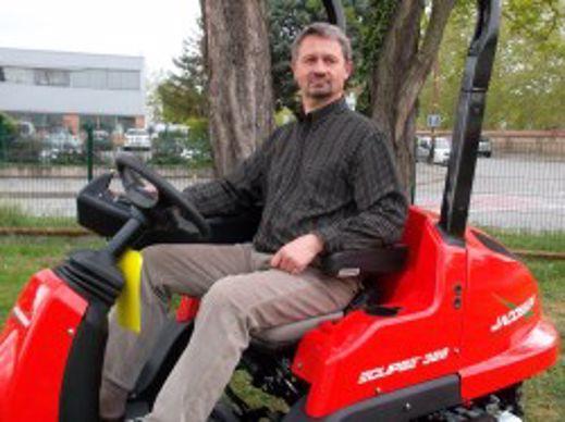 Sylvain Fournier, le futur directeur de la succursale.