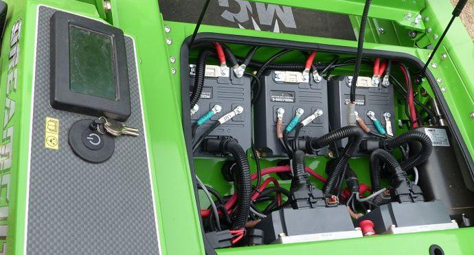 Tondeuse Mean Green Dreamcut EVO 188.5