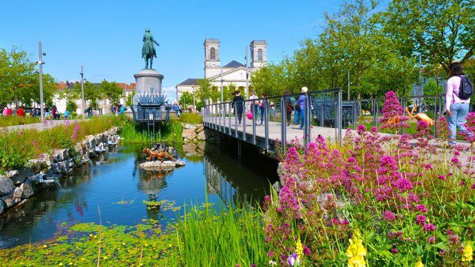 Ville de La Roche-sur-Yon (85), Fleur d'or 2020