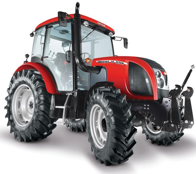 fiche technique tracteur zetor proxima 100 dt cabrio de 2013