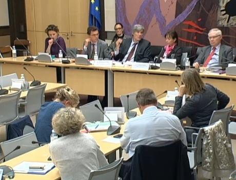 Stéphane Le Foll auditionné par la commission des affaires économiques de l'Assemblée nationale.