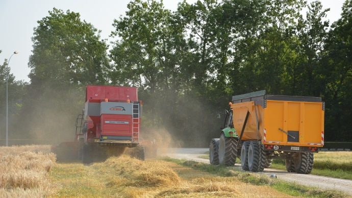 chantier de récolte: qui a le droit de conduire?