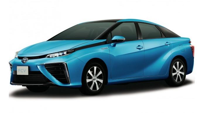 Toyota FCV : une Toyota à pile à combustible