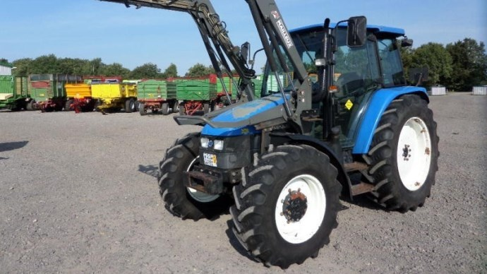 la cote agricole d 39 occasion des tracteurs new holland tl 90. Black Bedroom Furniture Sets. Home Design Ideas