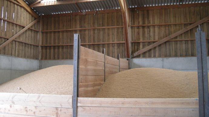 Stockage du blé