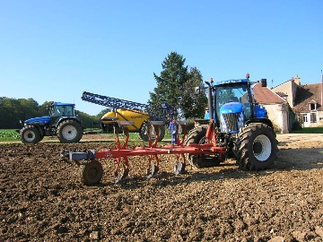 New Holland TG255, la puissance  made in USA