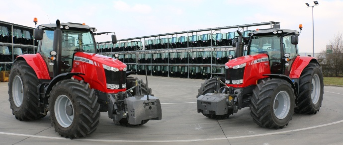 tracteurs Massey Ferguson MF7726 Dyna-6 et MF7626 Dyna-6