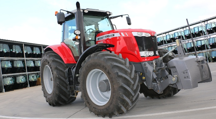 tracteur Massey Ferguson 7726 Dyna-6