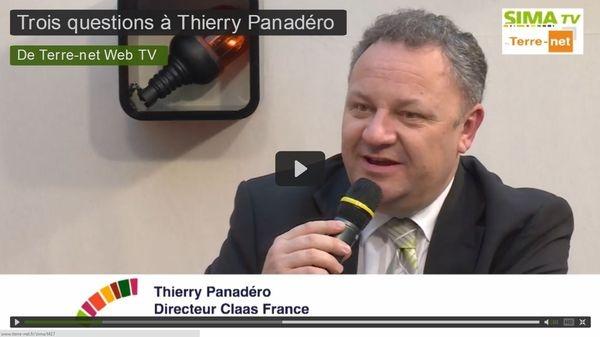 Thierry Panadero, directeur de Claas France