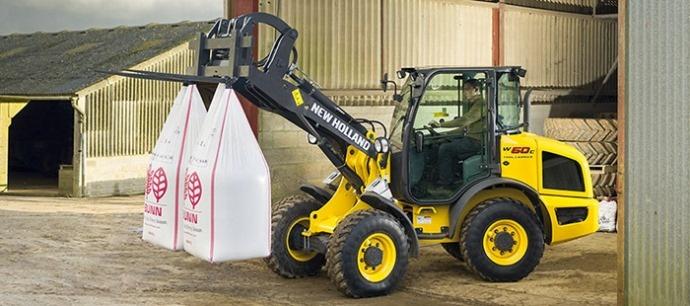 Chargeuses - New Holland adapte ses produits du Btp à l'agriculture
