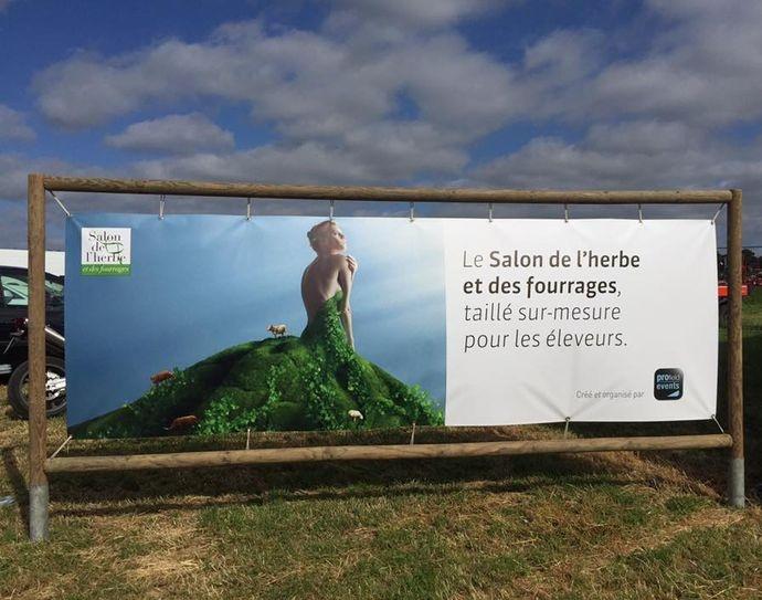 Salon de l'herbe et des fourrages 2015 en Bretagne