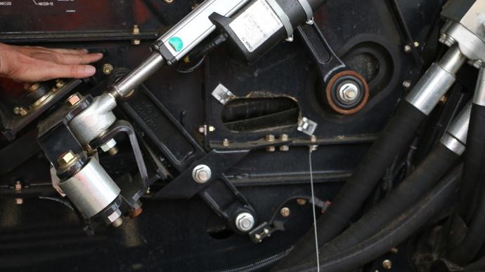 Réglage del'inclinaison électrique du caisson